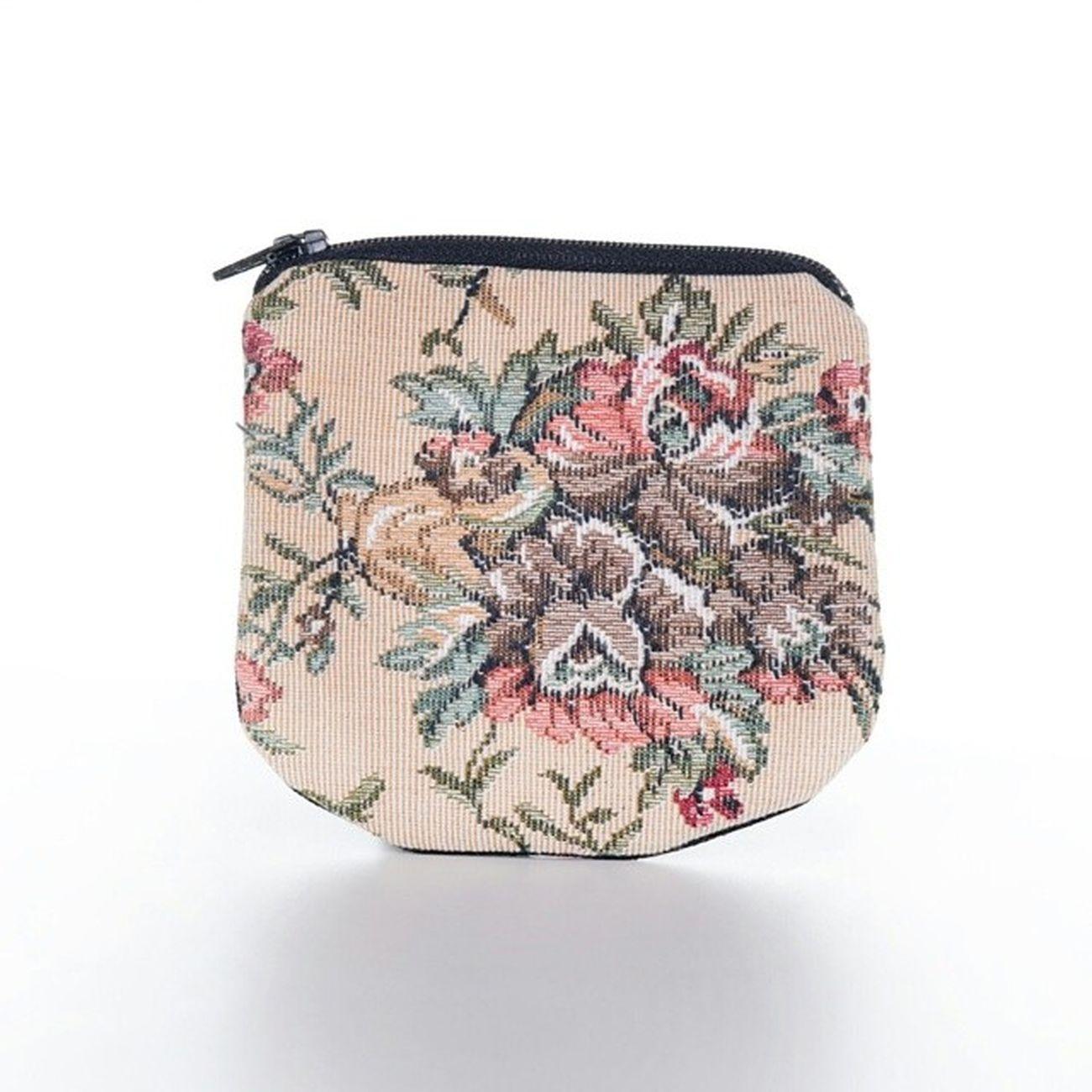 Coinpurse Tapestry Floral @miyuki @mincdesign
