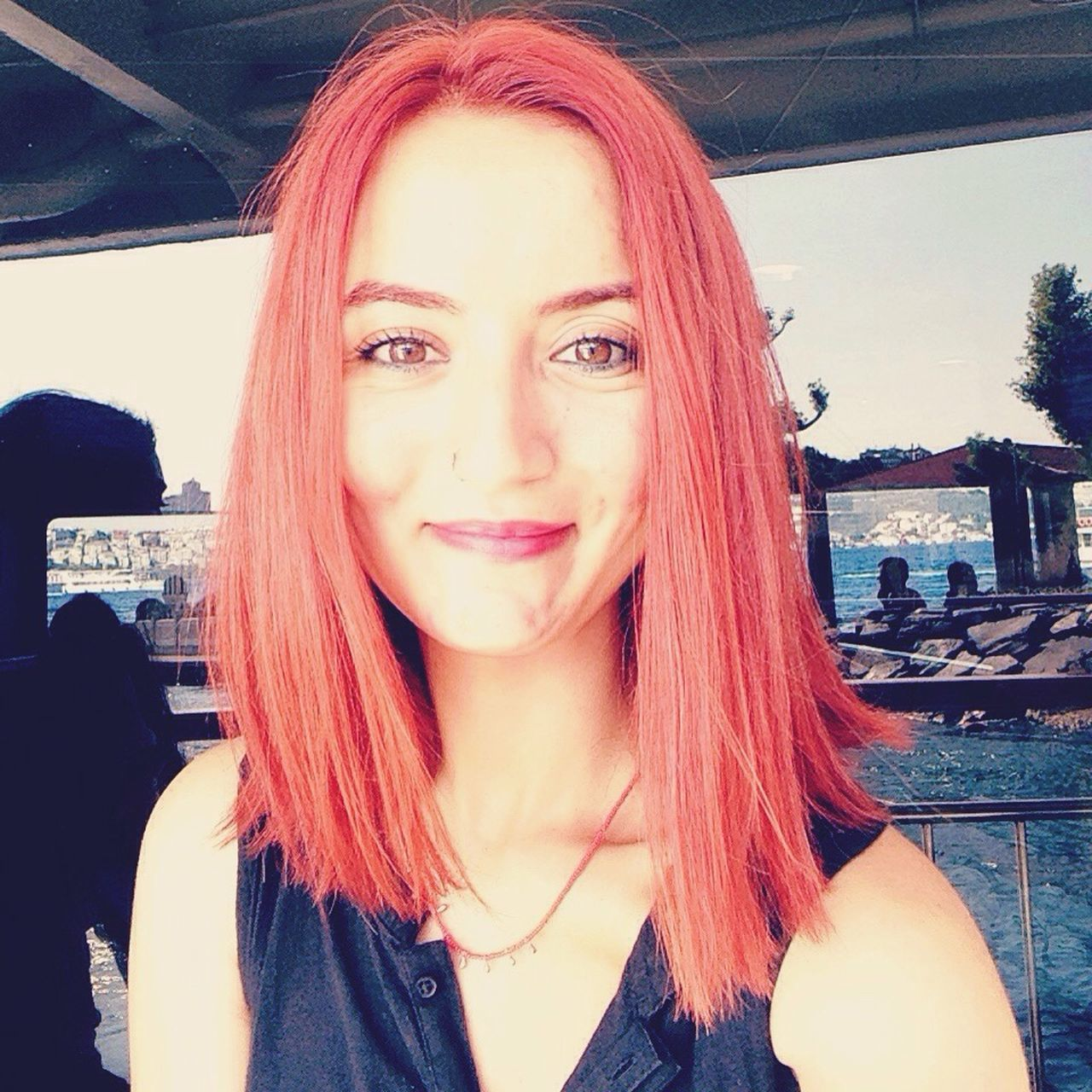 from the summer..💙. Hi! Summer Sunnyday Happy Justsmile Kadıköy Besiktas Sea Istanbul Turkey