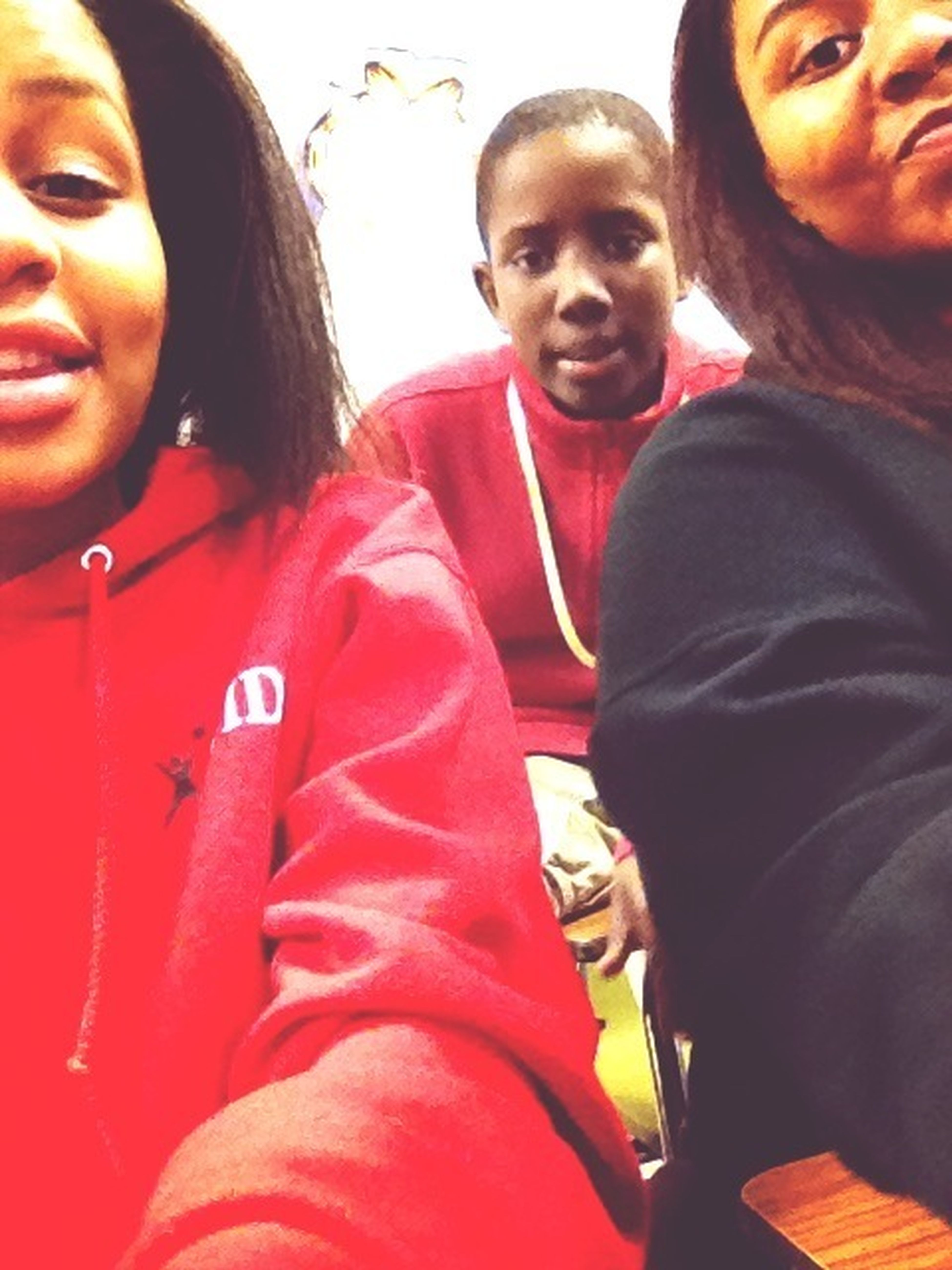 Me, Asia, And Gilbert In 6th Perio Yesterday