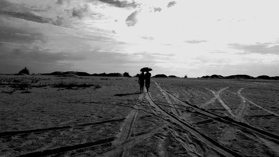 Monochrome Photography Landscape Adventure