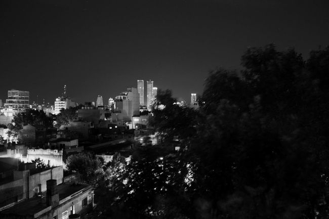 Night Night Lights Moon Light Buenosaires Argentina Building City Sleeping Heat Stars Darkness And Light White Blackandwhite
