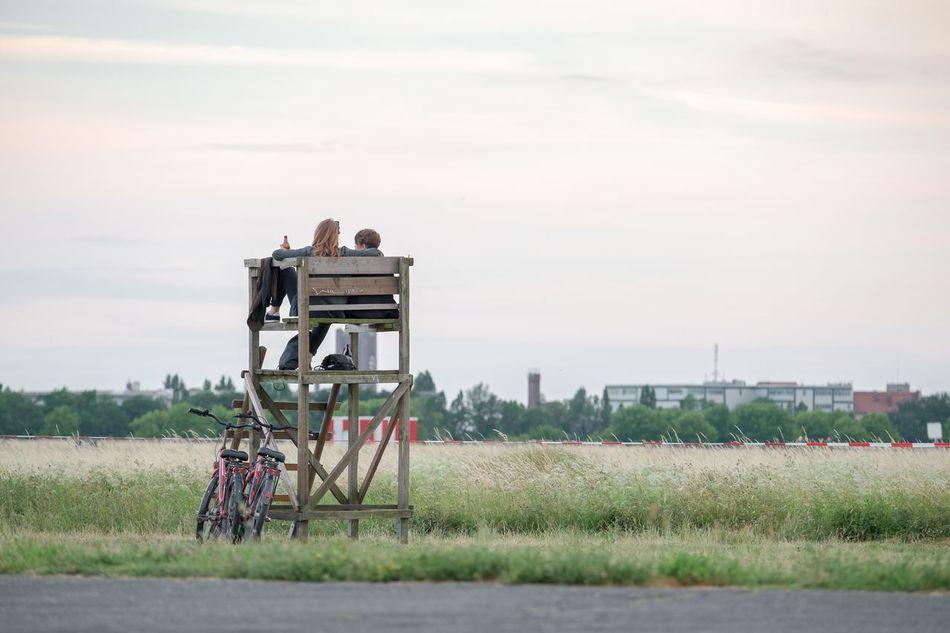 Beautiful stock photos of bier, Berlin Tempelhof, Bicycle, Built Structure, Day