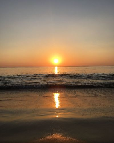 Thailand, Phuket Sea And Sky Sunset No Filter