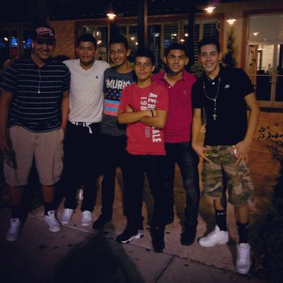 Mall wt. The homeboys!(;