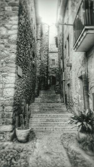 B&w Street Photography Girona My Photo