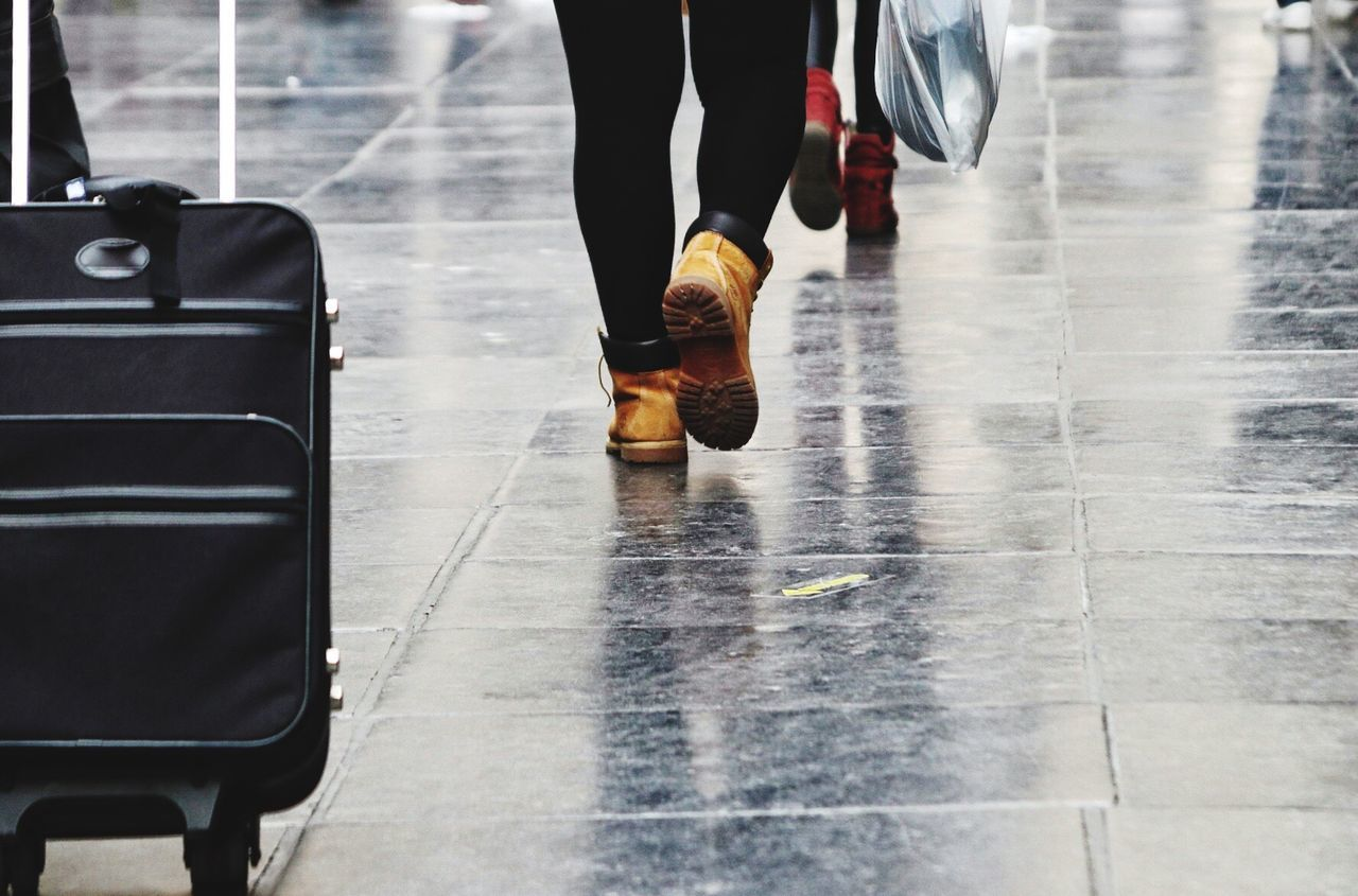 Low Section Real People Human Leg Lifestyles One Person Reflection Human Body Part Shoe Standing Luggage Travel Travel Destinations Traveling Travel Photography Travelphotography Marble Floors Walking Walking Around The City