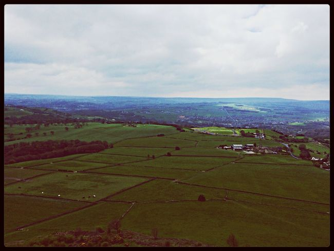 """This green & pleasant land..."" Yorkshire Landscape"