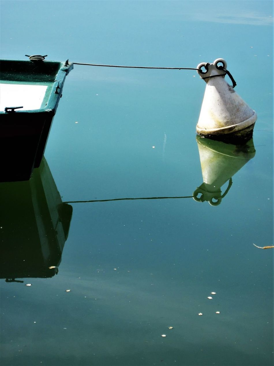 Buoy Day Hanging Nature Nautical Vessel No People Outdoors River Sea Water Water Wings