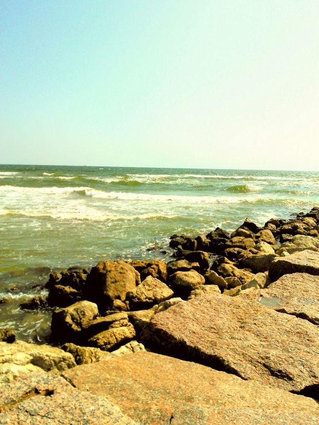Ocean And Sky View Rocks