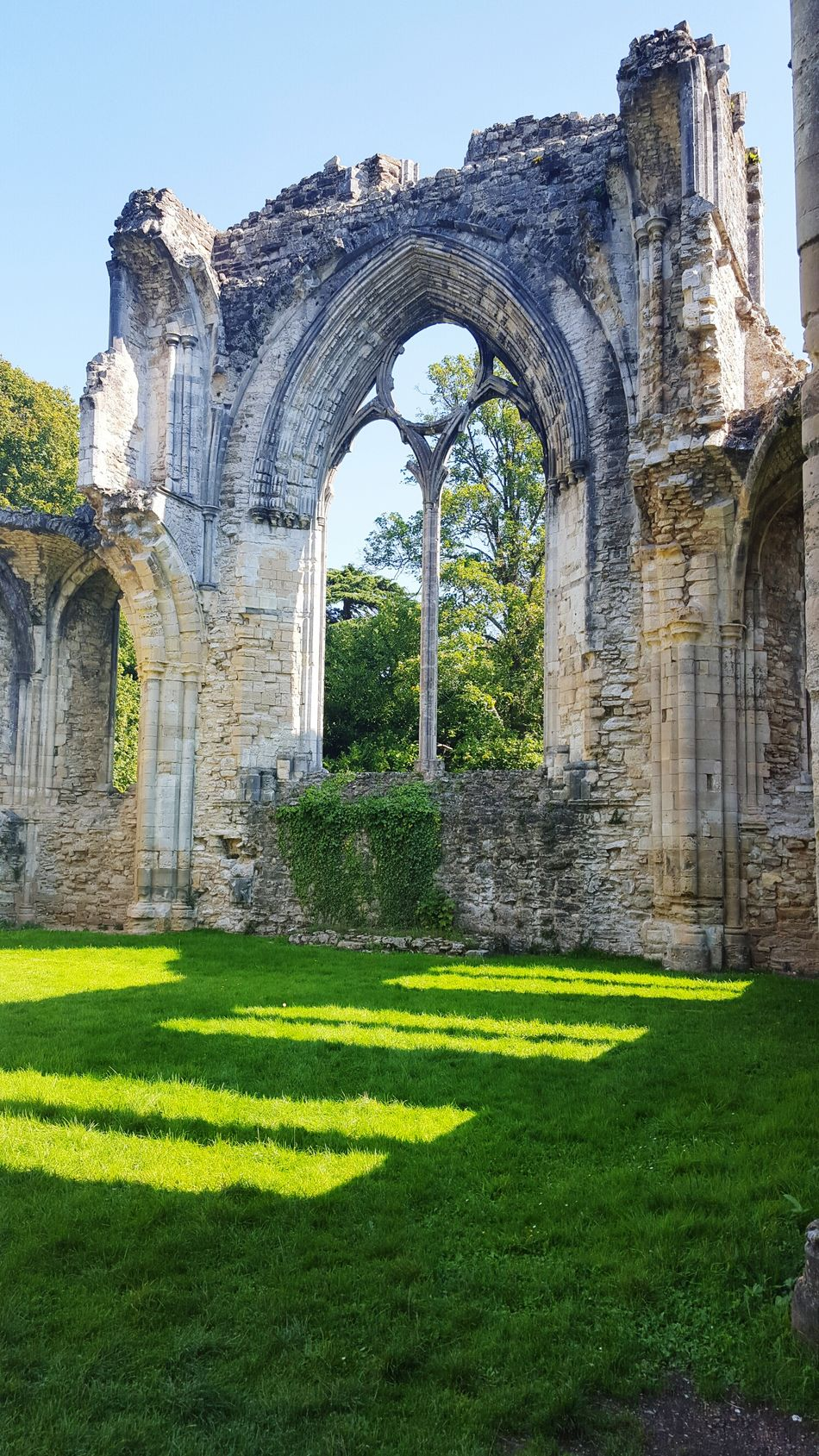 Historical Site Abby Ruins Arched Windows Historical Building Visaul Art Architecture_collection Old Windows Creative Eye