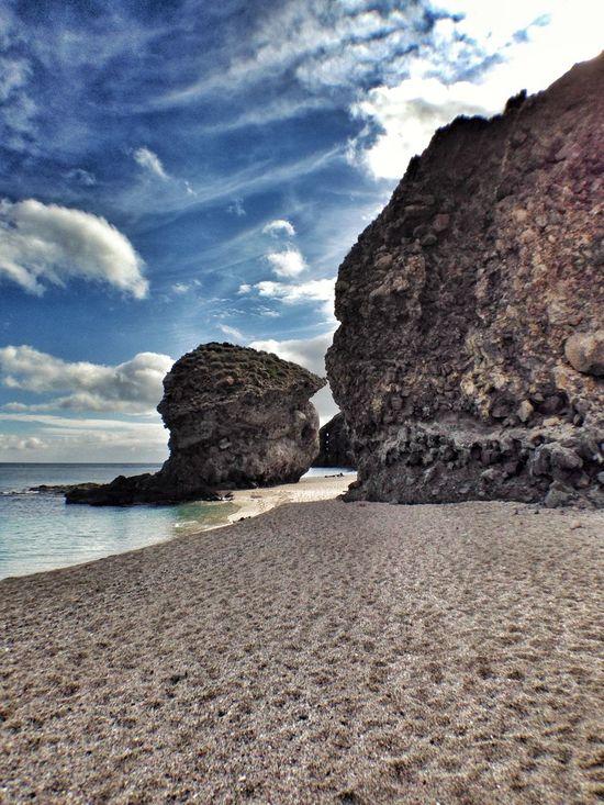 Beach Cabo De Gata Paradise Playa