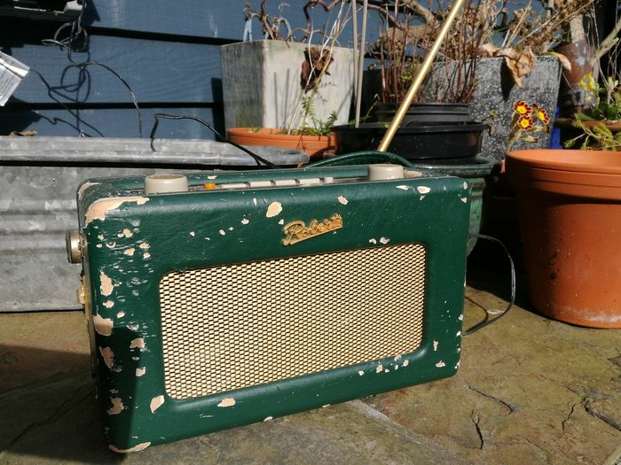 Old-fashioned No People Outdoors Still Working Tatty Feeling Peaceful Local Radio Huawei p9 Motheaten Spring Gardening