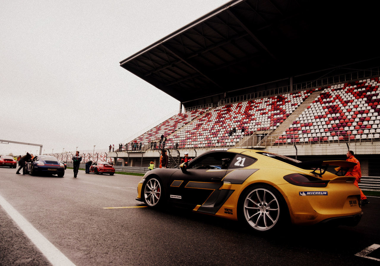 Car Cars Modern Pitlane Porsche Racing Track Sport Start