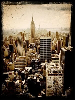 looking downtown at Rockefeller Center by danW