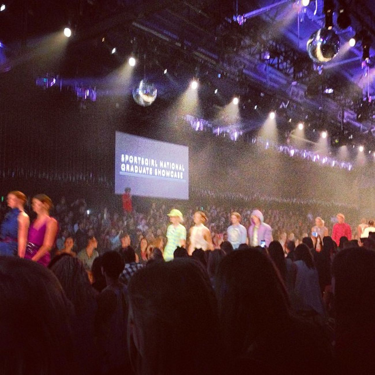 Sportsgirl Graduations finale. Such an inspiration.