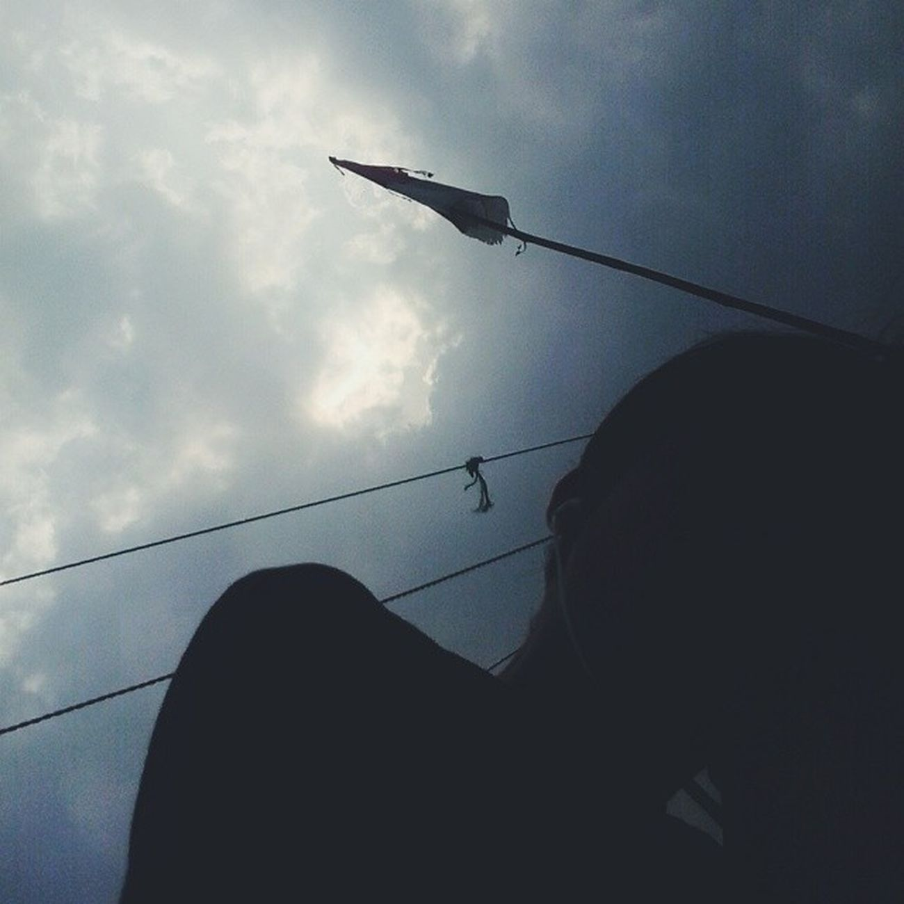Everytime i close my eyes, it's like a dark paradise ? Darkparadise Selfie Instaselfie Today sad oldflag sky instadaily