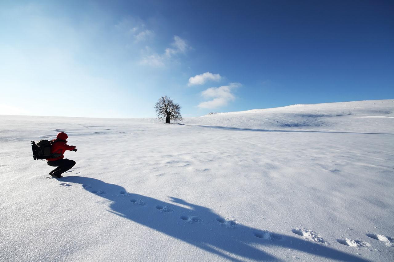 Cold Day Equipment Explore Explorer Explorers Full Length Gear Man Mountains Outdoors Passion Photography Snow Sunny Trail Travel Traveller Trek Trekking Winter Wintertime
