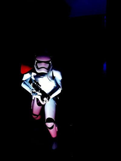 Stormtrooper The Empire Strikes Back Art Sculpture Robot Indoors