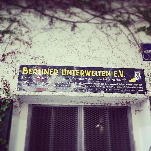 Gleich gehts los :D Berlin Unterwelten