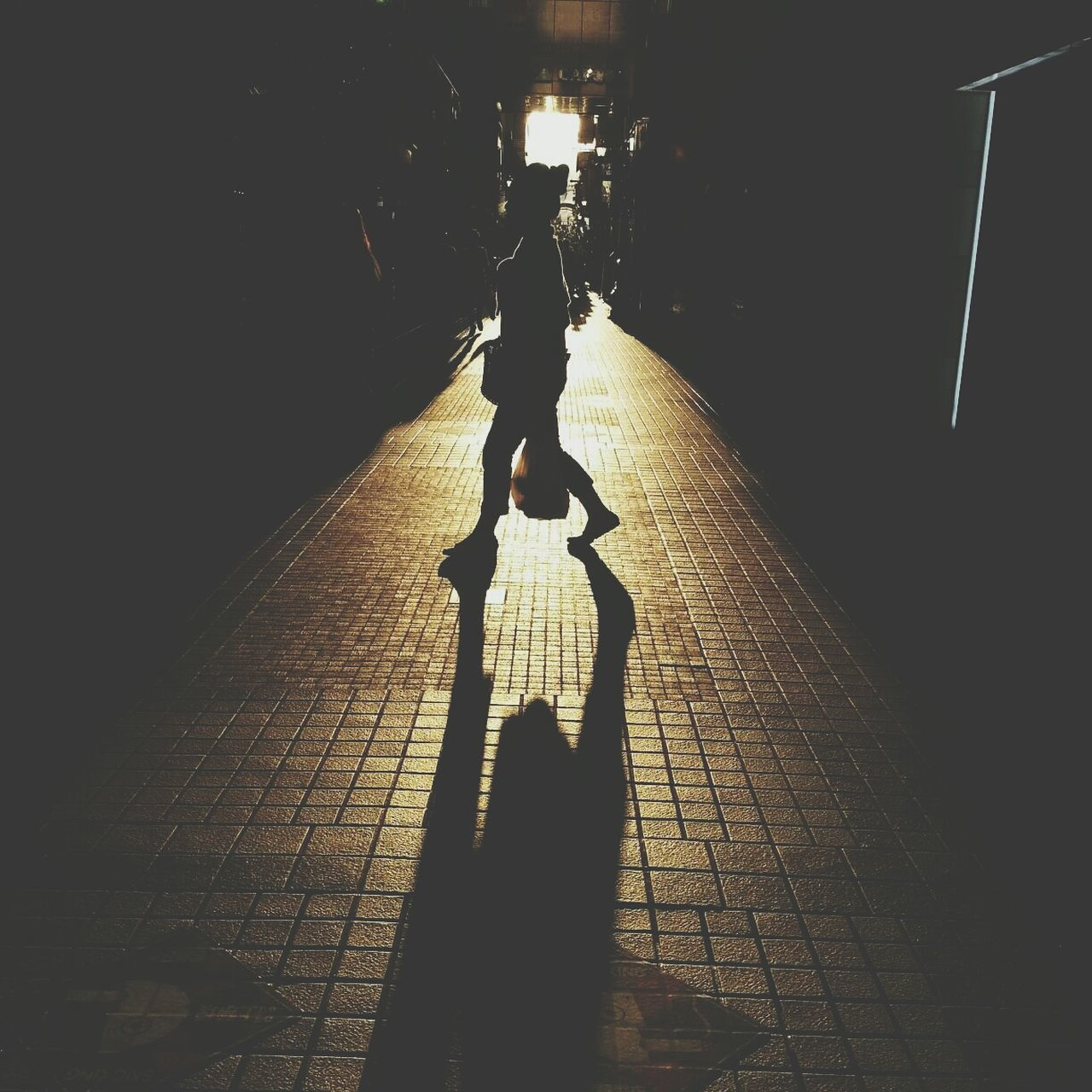 Beautiful stock photos of silhouette, Day, Footpath, Lifestyles, One Person