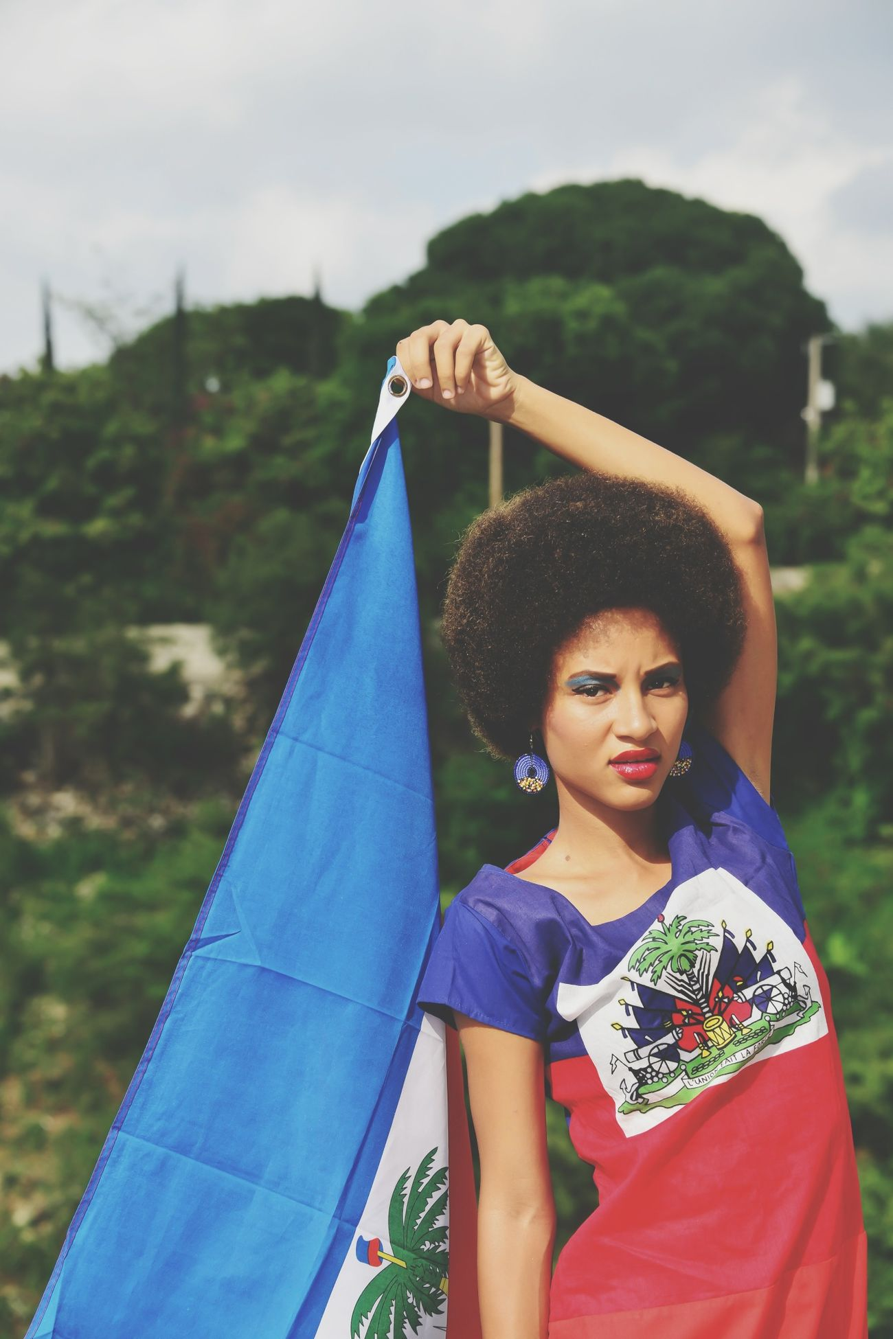 Haitianflag  Love Mycountry Proud