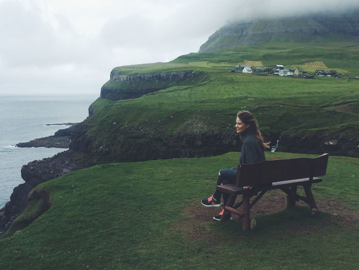 Traveling Landscape View Travel Green That's Me Faroe Islands Beautiful Nature