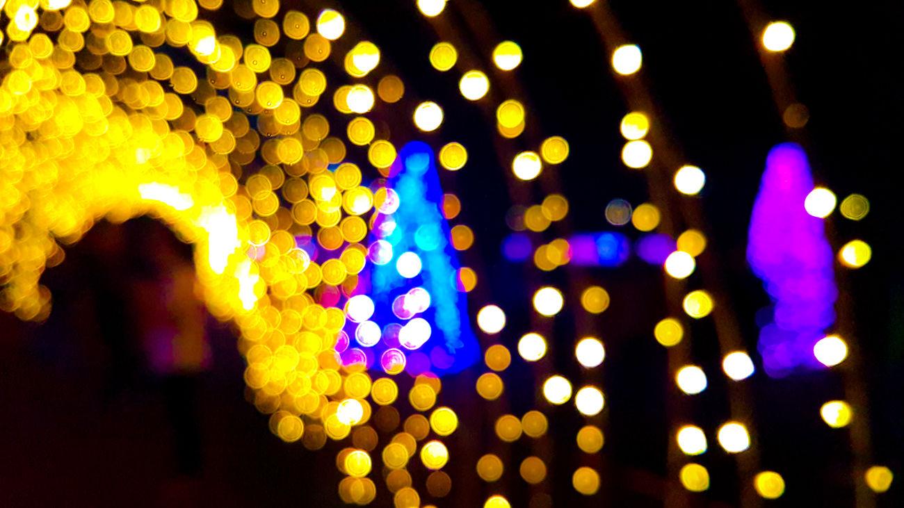 Lights. Defocused Illuminated Night Multi Colored Christmas Lights Christmas Decoration Christmas Nightlife Close-up EyeemPhilippines TravelPhilippines Eyeem Philippines Mobilephotography S7 Photography