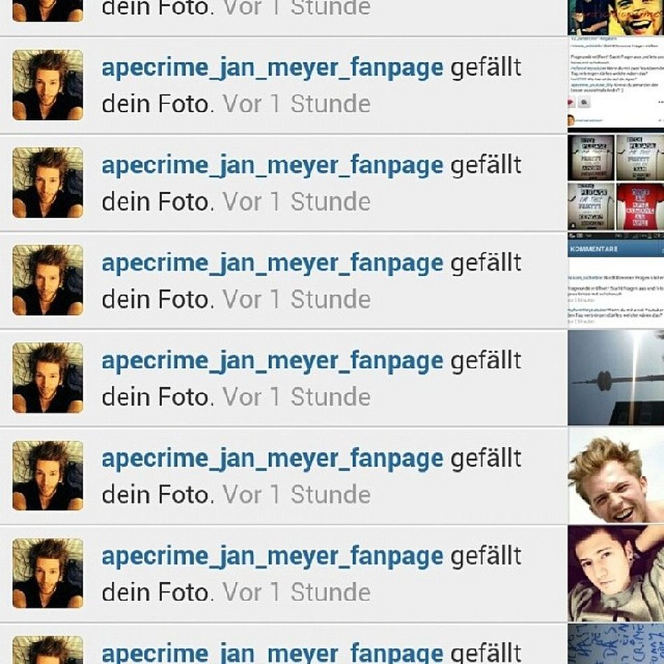 Dankeeeh Ray Hdgdl ;**♥♥♥ Likerdestages follow Ray @apecrime_jan_meyer_fanpage