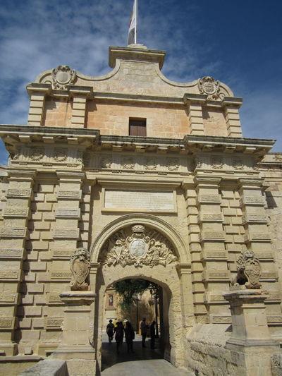 mdina, malta Architecture Emblem  Entrance Façade Manoel De Vilhenas Mdina Malta Travel Destinations Wappen