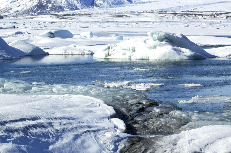 Beauty In Nature Cold Temperature Frozen Glacial Glacier Global Warming Ice Iceberg Iceberg - Ice Formation Iceland Iceland Memories Iceland Trip Iceland_collection Idyllic Jökulsárlón Melting Nature No People Outdoors Polar Climate Snow Tranquil Scene Travel Water Winter