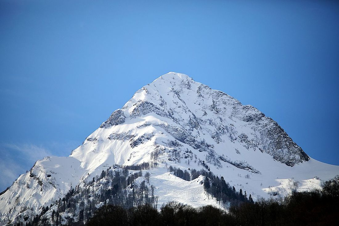 Mountains Mountain Blackpyramid Black Pyramid Sochi Russia Krasnaya Polyana Snow White Nature Outdoors Beauty In Nature Clear Sky Day No People Nature Perspectives On Nature Be. Ready.