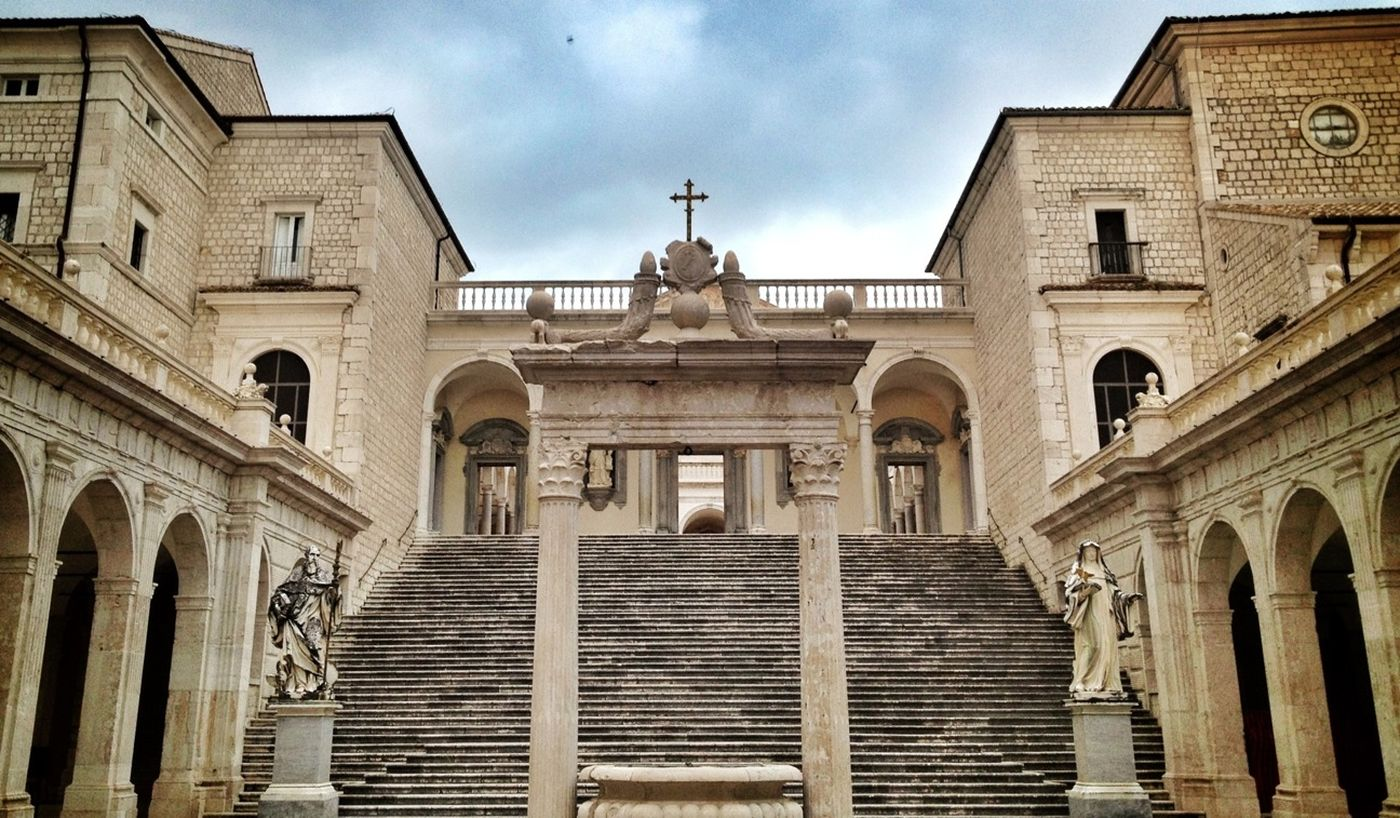Quality Time Spiritual Abbey Monastery