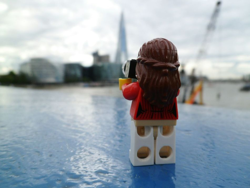 Snapping away along the River Thames Taking Photos Check This Out Londonphotography Lego Minifigures Afol Legophotography Riverthames London Toplondonphoto Theshard