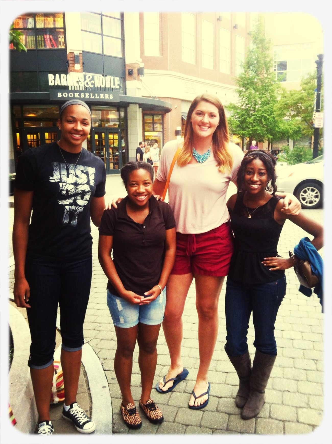 Uconn Women's BBall players