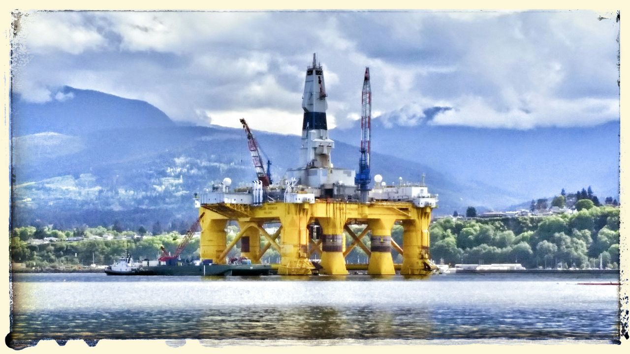 Olympic Peninsula Unemployeddays Things I Saw Today The Places I've Been Today SHELL NO Big Oil. Shell Oil Is Evil
