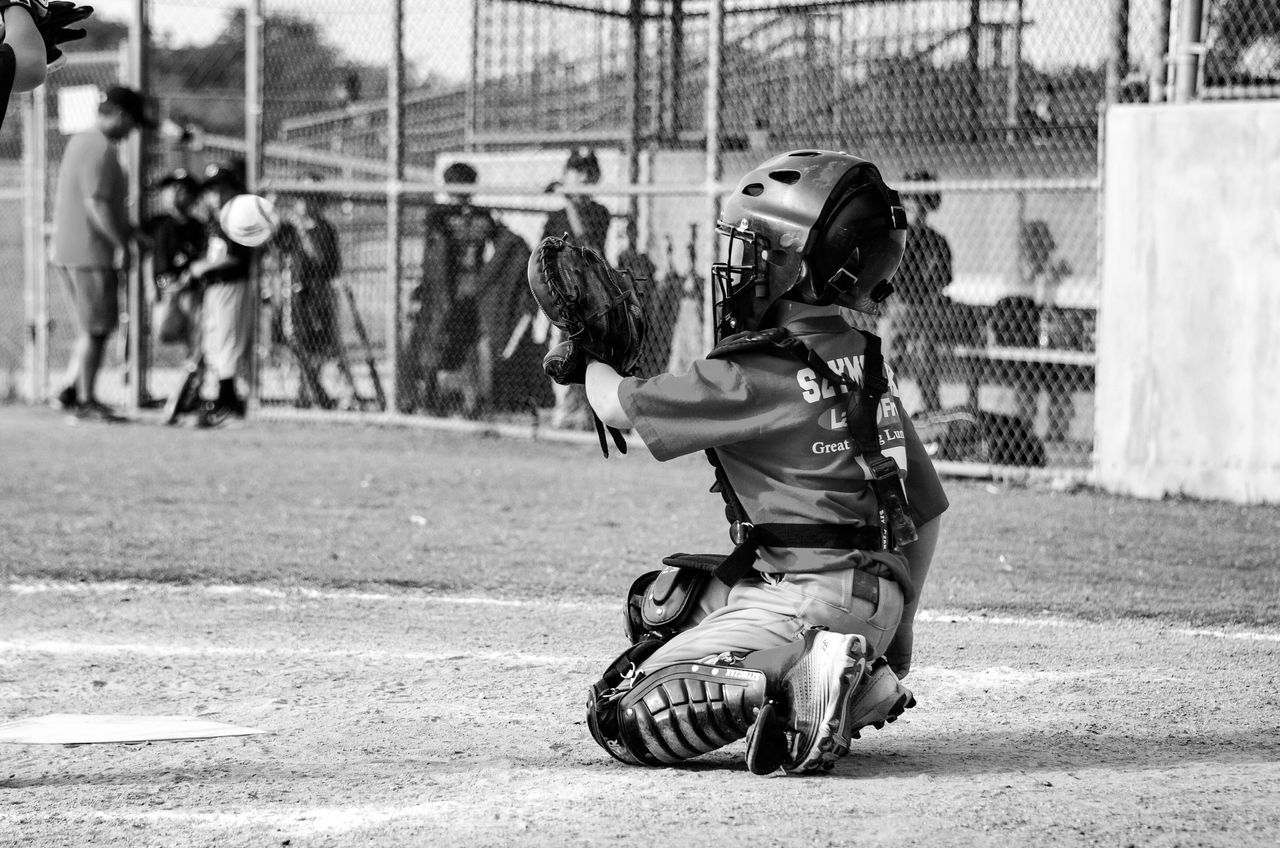 Beautiful stock photos of baseball, 6-7 Years, Baseball - Sport, Baseball Catcher, Baseball Glove