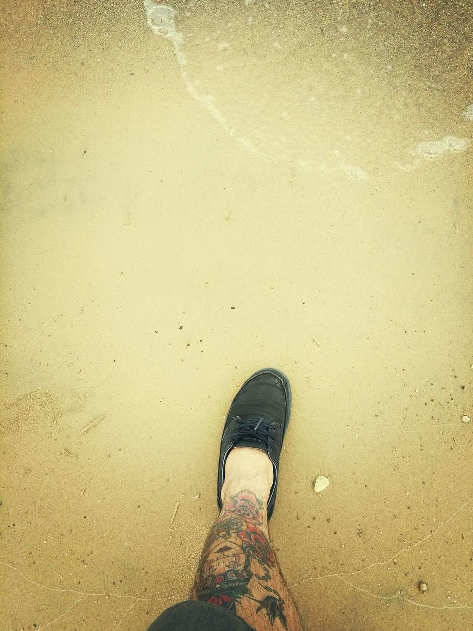 Shoes Tattoo Water Cold