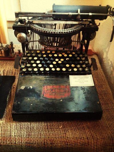 Glenwood Springs Typewriter From 1887 Weekend In The Mountains