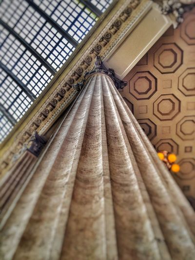 Union Station Chicago Chicago Column Architecture Architectural Detail