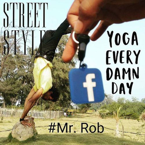Facebook Yoga FbHealth FacebookHealth Streetstyle Mrrob Robinraj Yellow Creative HotographyIdea Handstand  Rfta Realfightertaekwondoacademy