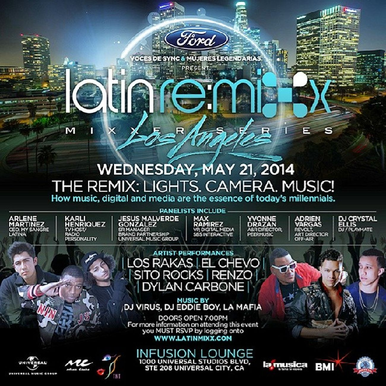 Come watch the kid drop marketing gems on the Lights, Camera, Music panel. Lmx2014 OG ArtLife