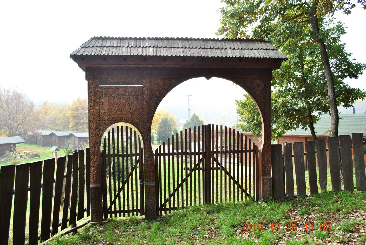 Architecture Built Structure Forest Gate History Outdoors Szekely Gate