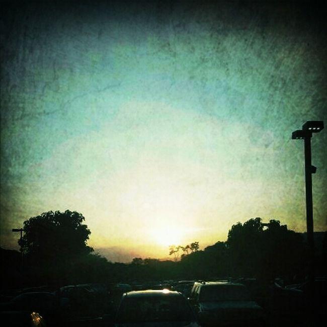 Last Sunday Sunset Of 2012