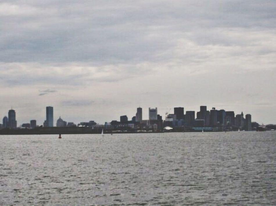 Boston Harbor Skyline Urban Escape Harbor Cruise