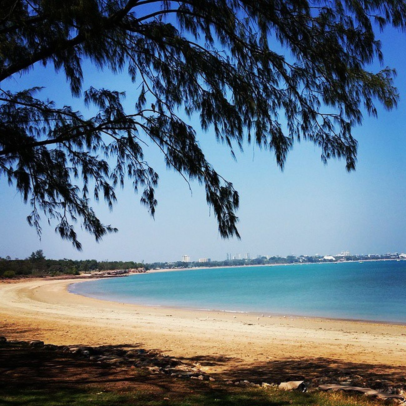 Northern Territory's own paradise hideaway FannieBay Bluesky Bluesea Nt Travelling RTW LifesABeach Lux