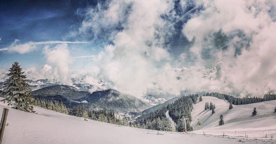 Belchen Black Forrest Amazing Clouds Love