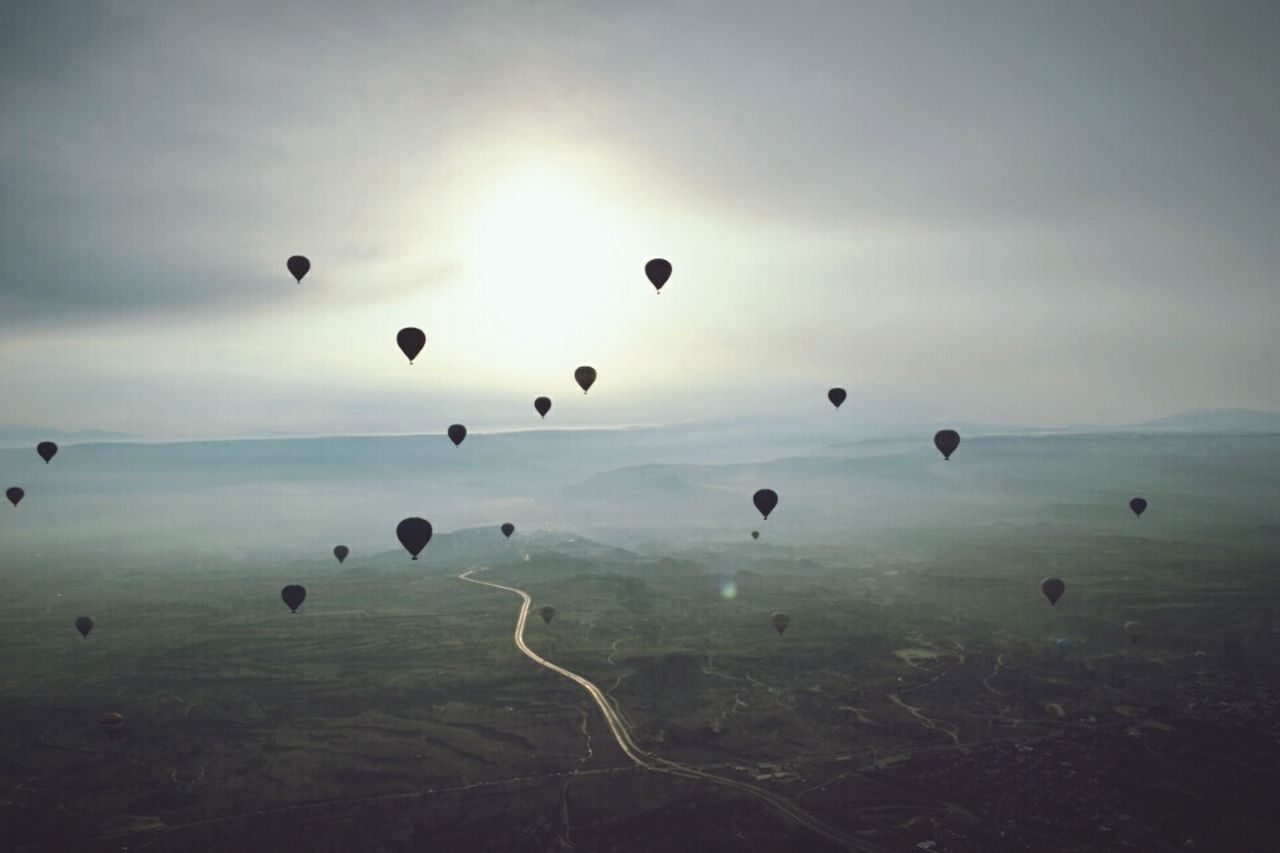 Sunrise Hot Air Balloons Cappadocia Capadocia Turkey Turquia