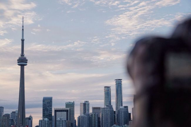 Taking Photos Torontophotography The6ix Cntower Views Theview Focused Toronto Viewsfromthe6 Focused Blur Feedyourfocus Check This Out Focus On Background A6000