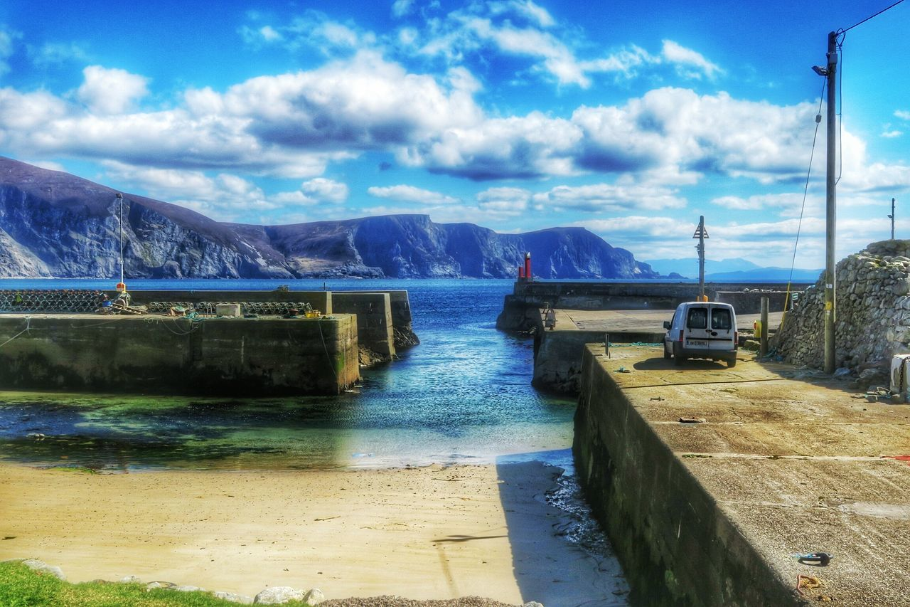 Purteen Harbour - Achill Island, Ireland - 23 April 2016 Achill Island Achill Purteen WestCoast Atlantic Ocean Cloudporn Irish Coast Docked Boats Pier Ireland Boats Harbour Harbor Enjoying The Sun April 2016 April2016 The Great Outdoors With Adobe