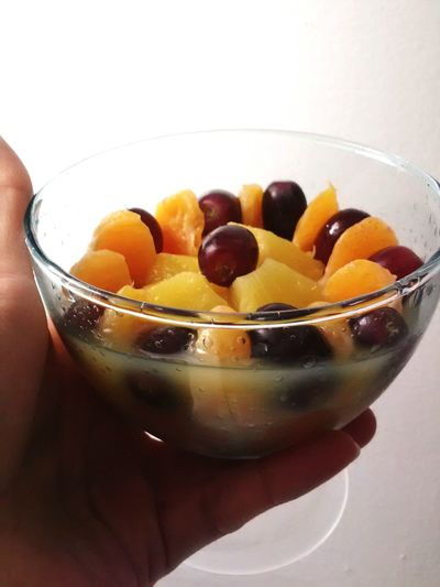 Healthy Eating Bowl Close-up Breakfast No People Indoors  Food Freshness Ready-to-eat Comfort Food Day Grapes 🍇 Pineapple🍍 Mandarines Fruit Bowl Fruit Photography Fruits ♡ Fruitsalad